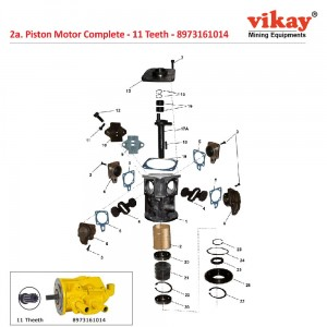 Piston Motor (11 Teeth) 8973161014