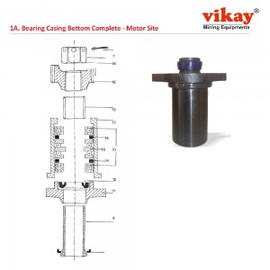 Bearing Casing Bottom Compl. Simba Junior Parts
