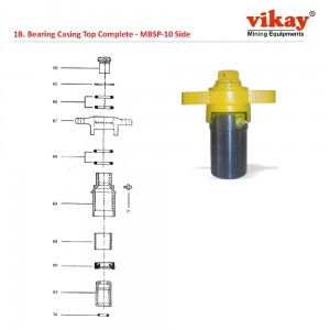 Bearing Casing Top Complete M9030