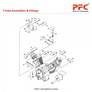 Tube Assemblies & Fittings IR 5T2 NL Parts