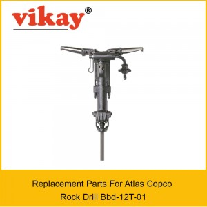 Bbd 12T01 Replacement Parts - Atlas copco