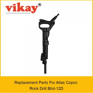 Bbd 12D  Replacement Parts - Atlas copco