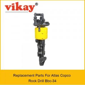 Bbc 34 DSI  Replacement Parts - Atlas copco