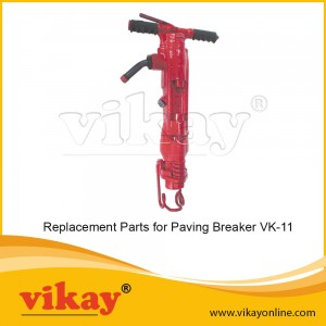 VK 11 Vikay Paving Breaker Parts