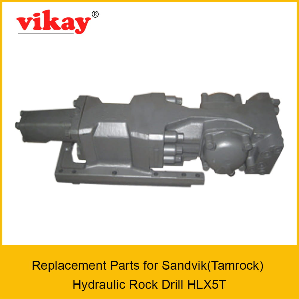 HLX5T Replacement Parts - Sandvik - Tamrock - Hydraulic Drifter